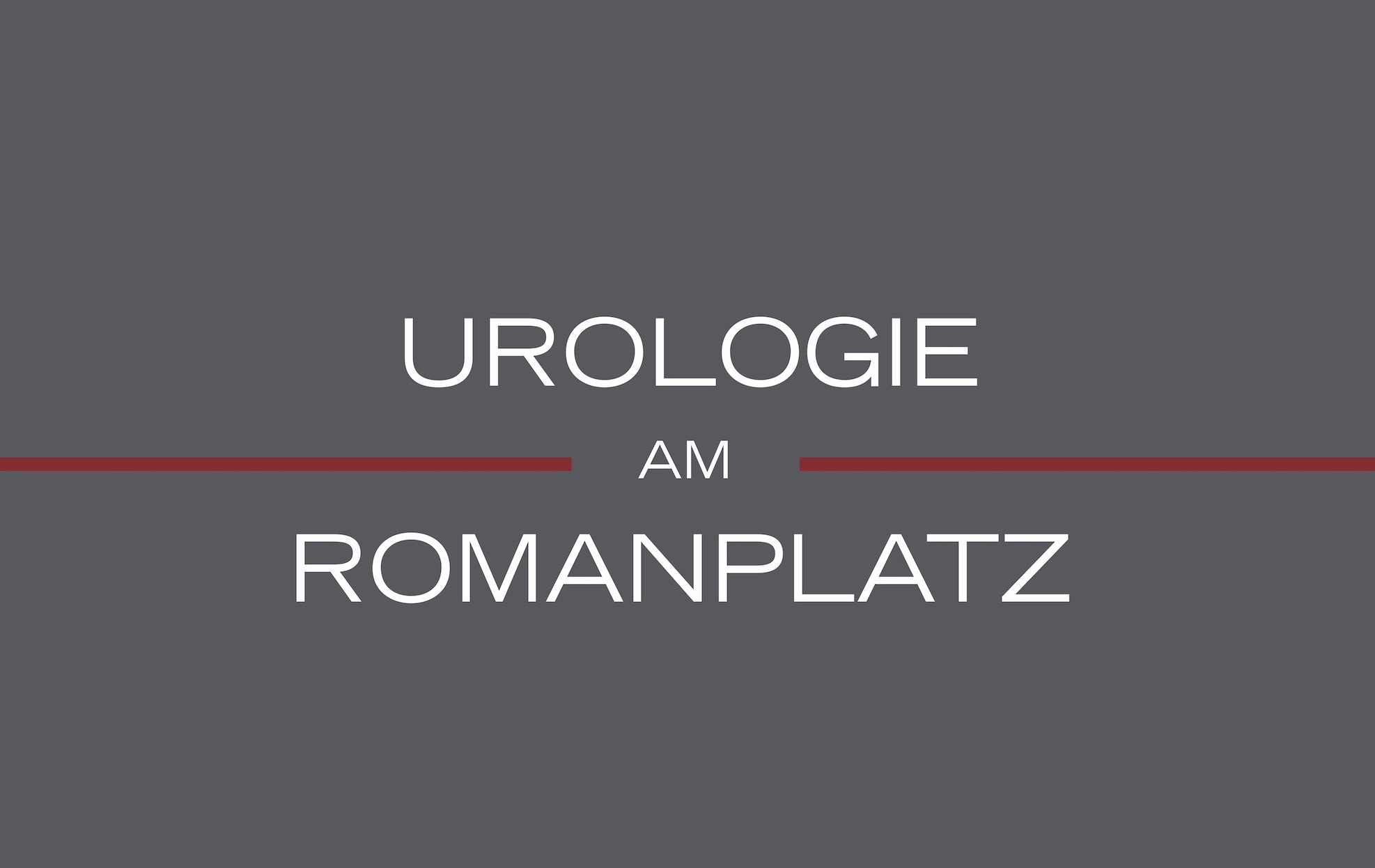Visitenkarte Urologie Romanplatz